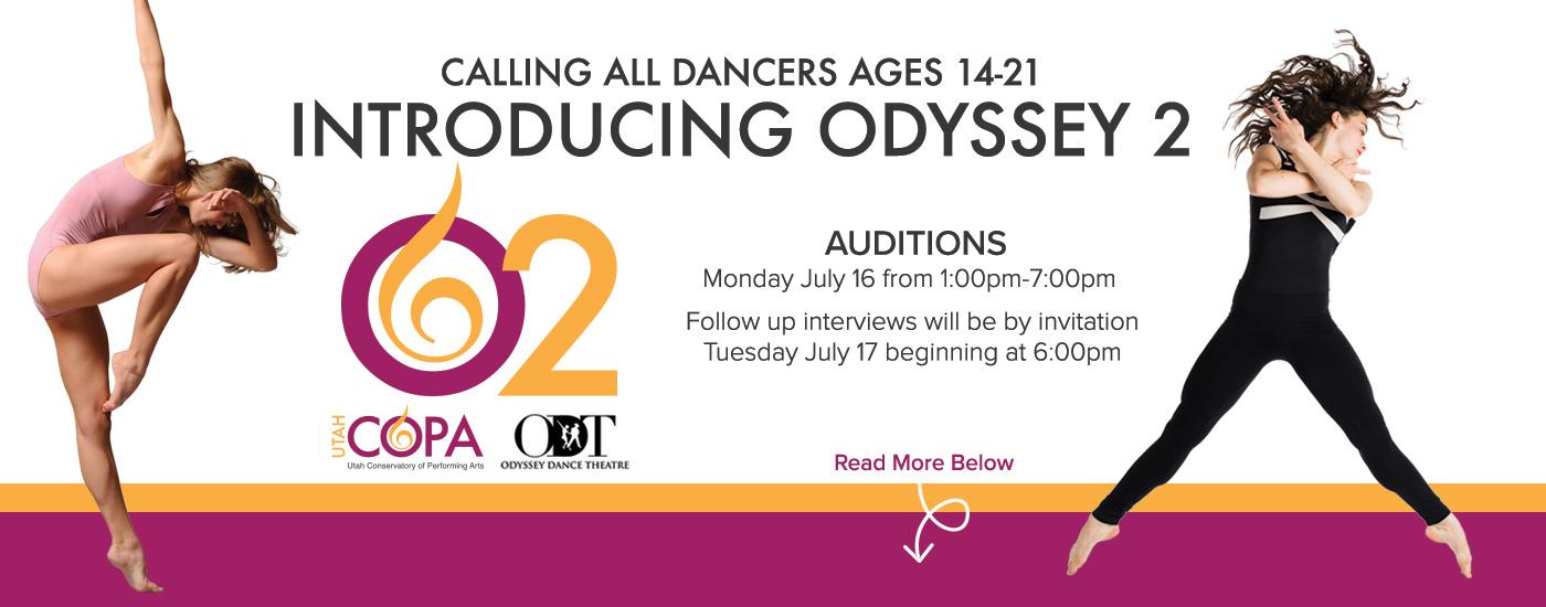Utah COPA & Odyssey Dance Theatre Introduce O2