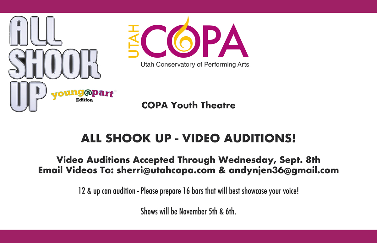 All Shook Up - Video Auditions_1200x776